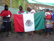 Zapatistas se movilizan.
