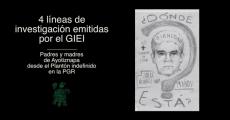 Plantón indefinido frente a la PGR por el avance inmediato de 4 líneas de investigación en el caso de los 43 estudiantes normalistas de Ayotzinapa.