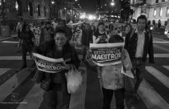 Exige Sección 9 del CNTE la reinstalación de los maestros cesados en CDMX
