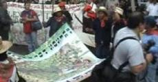 Marcha contra la represión a los pueblos zapatistas