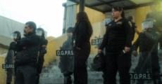 Mitin en el penal femenil de Santa Marta Acatitla