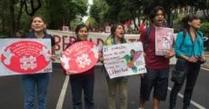 Marcha por Pathistan en el DF