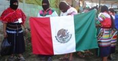 Se movilizan Zapatistas en Chiapas.