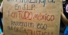 San Luis Potosi se solidariza con estudiantes de Ayotzinapa