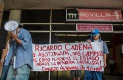 Exijen justicia para Ricardo Cadena en el DF