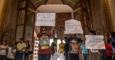 Nos llaman terroristas porque no vamos a votar. XI Acción Global por Ayotzinapa