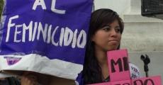 Yakiri encabeza marcha del 8 de marzo