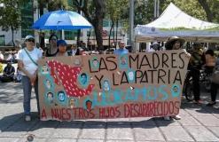 10 de mayo de lucha y de protesta #MadresBuscando