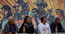 Que retiemble Benito Juárez: Acto político cultural en apoyo al CIG