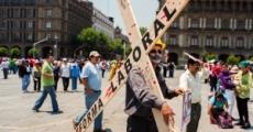 Marcha conmemorando el 1ro de mayo 2013